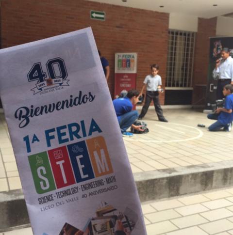 1era Feria STEM Liceo del Valle