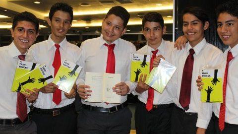 A tres tintas en la Universidad Panamericana
